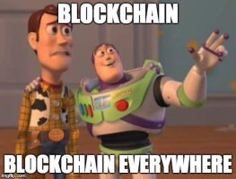 Blockchain meme