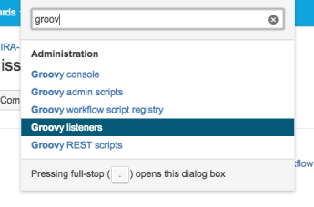 Example of Listener with Groovy Amigo for Jira – www MrAddon