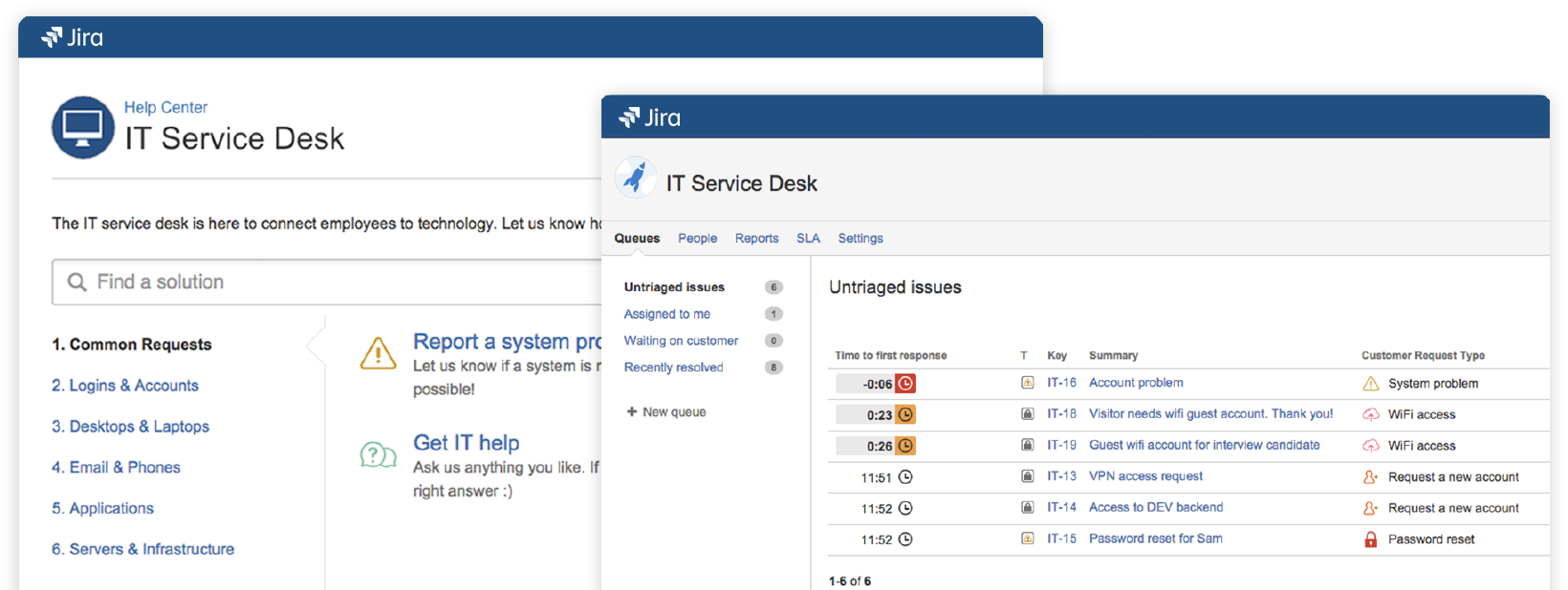Configure more than one email channels in a Jira Service Desk project